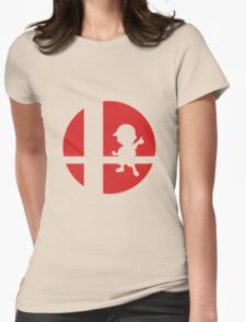 Ness - Super Smash Bros. Womens Fitted T-Shirt