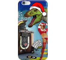 Jurassic Christmas Song iPhone Case/Skin