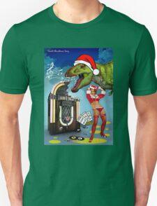 Jurassic Christmas Song Unisex T-Shirt