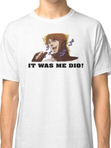 JoJo's Bizarre Adventure: IT WAS ME DIO! (With Icons) Classic T-Shirt