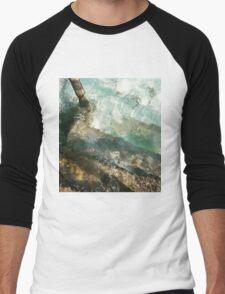 Calm Water  Men's Baseball ¾ T-Shirt