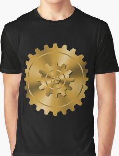 Golden Gears - Steampunk Graphic T-Shirt