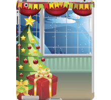 Christmas Living Room iPad Case/Skin