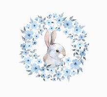 Rabbit and floral wreath T-Shirt