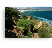 Ultimate Garden Furniture @ Sculptures By The Sea Canvas Print