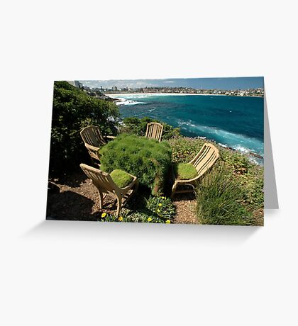 Ultimate Garden Furniture @ Sculptures By The Sea Greeting Card