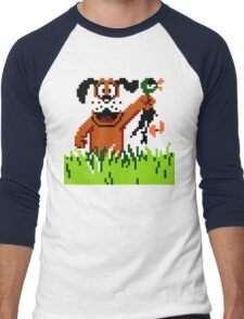"""Retro Retriever"" Duck Hunt Men's Baseball ¾ T-Shirt"