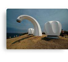 Big Tap @ Sculptures By The Sea, Australia 2011 Canvas Print