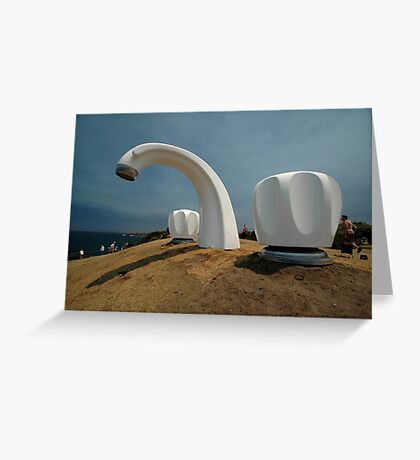 Big Tap @ Sculptures By The Sea, Australia 2011 Greeting Card