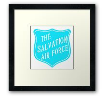 The Salvation Air Force Framed Print