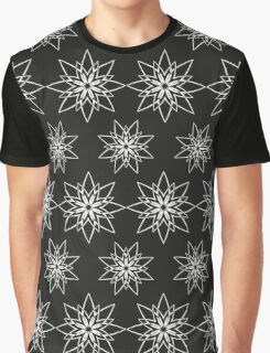 Pattern with abstract flowers Graphic T-Shirt
