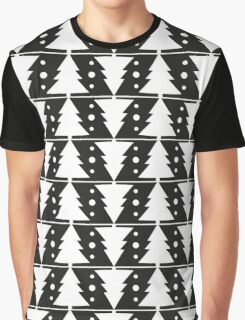 Pattern with Christmas trees Graphic T-Shirt