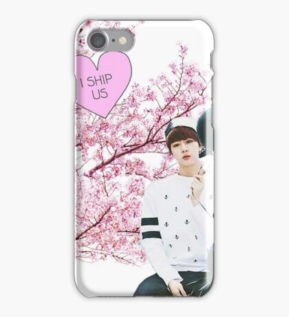 Jin I Ship Us iPhone Case/Skin