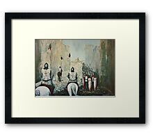 The Siege of Ascalon Framed Print