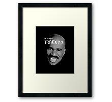 sh Framed Print