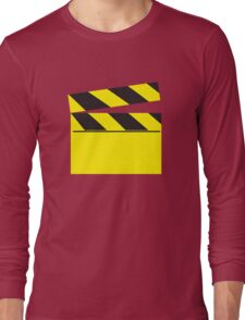 Blank FILM movie board Long Sleeve T-Shirt