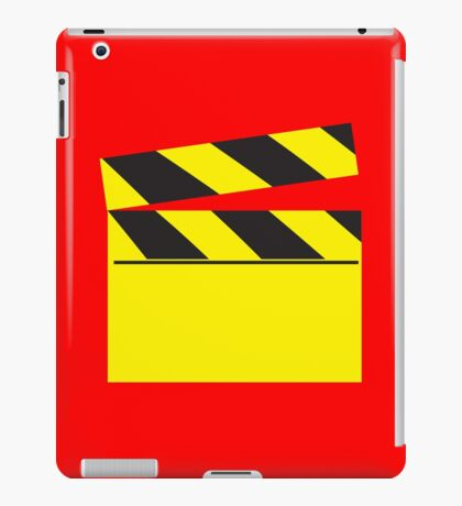 Blank FILM movie board iPad Case/Skin