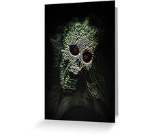 Scary Skull Greeting Card