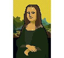 Monna Lisa 8bit Photographic Print