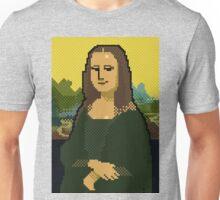 Monna Lisa 8bit Unisex T-Shirt