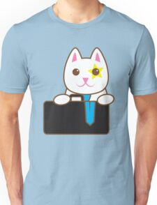 Business CAT with a suitcase Unisex T-Shirt