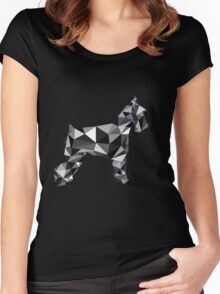 poli schnauzer Women's Fitted Scoop T-Shirt