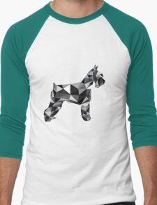 poli schnauzer Men's Baseball ¾ T-Shirt