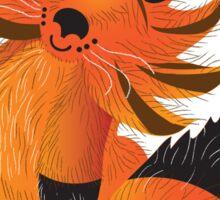 Cute little Foxy fox Sticker
