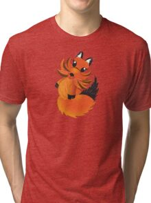 Cute little Foxy fox Tri-blend T-Shirt