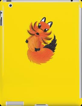 Cute little Foxy fox by jazzydevil