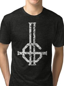 2015 LOGO - destroyed white Tri-blend T-Shirt