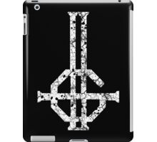 2015 LOGO - destroyed white iPad Case/Skin