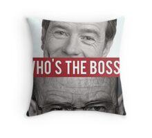 Hal vs Heisenberg Throw Pillow