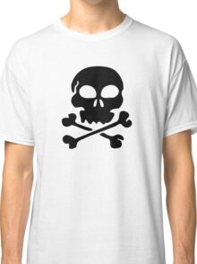 SKULL AND CROSSBONES by Zombie Ghetto Classic T-Shirt
