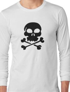 SKULL AND CROSSBONES by Zombie Ghetto Long Sleeve T-Shirt
