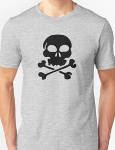 SKULL AND CROSSBONES by Zombie Ghetto Unisex T-Shirt