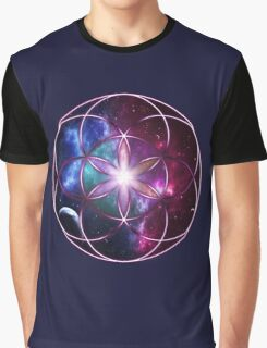 Sacred Geometry: Seed of Life - Universal Energy II Graphic T-Shirt