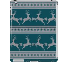 Pattern with deer iPad Case/Skin