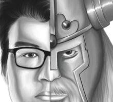 League of Legends - Dyrus/Olaf Design Sticker