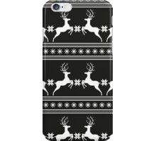 Pattern with deer iPhone Case/Skin