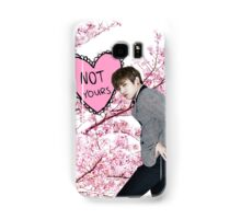 Jungkook - Not Yours Samsung Galaxy Case/Skin