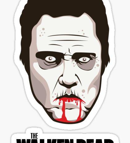 """Christopher Walken - """"The Walken Dead"""" Official Sticker"""