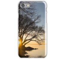 On Fire - Sunrise Through The Willows iPhone Case/Skin