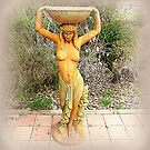 *Water Maiden Statue on Farm, Kirkstall, Vic. Aust.*  by EdsMum
