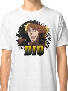 JoJo's Bizarre Adventure - IT WAS ME DIO! Logo Classic T-Shirt