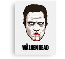 """Christopher Walken - """"The Walken Dead"""" Official Canvas Print"""