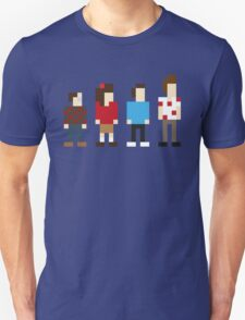 Seinfeld sitcom characters in Pixelstyle T-Shirt