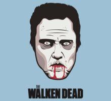"""Christopher Walken - """"The Walken Dead"""" Official Kids Tee"""