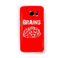 BRAINS by Zombie Ghetto Samsung Galaxy Case/Skin