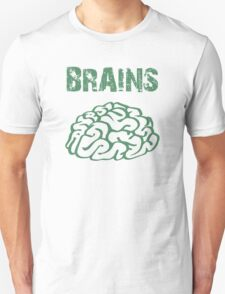 BRAINS by Zombie Ghetto Unisex T-Shirt